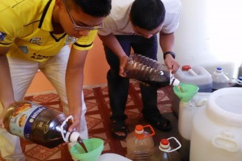 Recycling cooking oil as initiative for environment sustainability