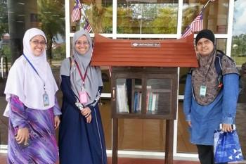Little Free Library (LFL) usaha bangunkan budaya IQRA' – Pn. Nor Azzah Momin