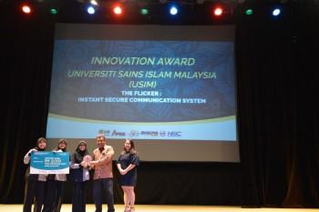 Pasukan USIM bawa pulang emas dan Anugerah Inovasi di NRIC 2019