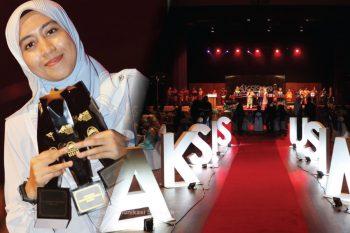 Halangan dan cabaran bukan penghalang untuk cipta kejayaan-Yusrina Yusof, Tokoh AKSIS 18/19