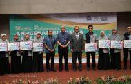 USIM Lancar Anugerah Biasiswa Barakah dan Serahan Baucer Buku untuk Asnaf USIM