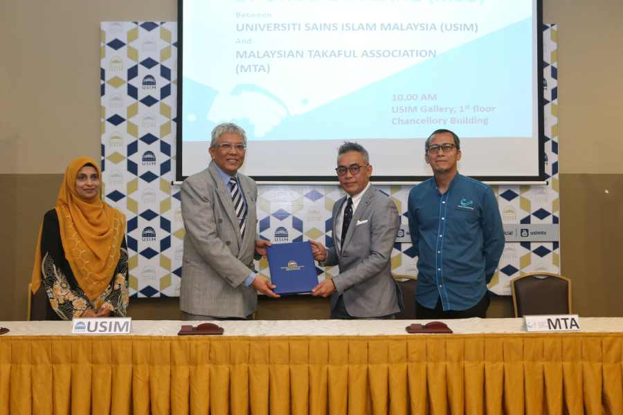 USIM signed MoU with MTA as an initiative to empower human capital