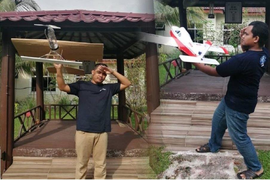 Pelajar Bioteknologi Makanan hasilkan kapal terbang dari bahan buangan