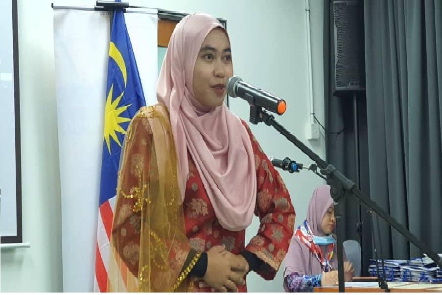 USIM Johan  Sayembara Deklamasi Puisi Kemerdekaan Ke -34 Peringkat Negeri Sembilan