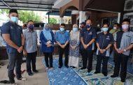 USIM dan KPT ziarah keluarga pelajar USIM yang lemas di Kluang Johor