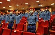 63 Kadet Kor-SISPA USIM Ditauliah sebagai Leftenan Muda Pertahanan Awam kali ke 11