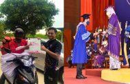 Selepas 'Konvo' Depan Rumah, Iskandar Naik Pentas Terima Anugerah daripada Canselor