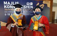 Restu ibu bapa rahsia kejayaan penerima Anugerah Pelajaran DiRaja di Majlis Konvokesyen Ke-18 USIM