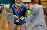 Sukarelawan berganding bahu, lancarkan proses PPV di USIM