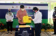 YAM Pro-Canselor USIM berangkat hadir Ke PPV IPT Mega USIMberi sumbangan kurnia kepada sukarelawan